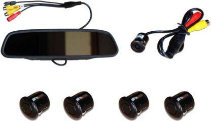 sistema de video parking con cámara y sensores de retroceso milano equipamiento para automoviles