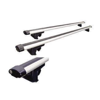 barra portaequipaje de aluminio reforzado 130 cm de largo tipo universal con llave y cerradura de seguridad soporta hasta 140 kilos